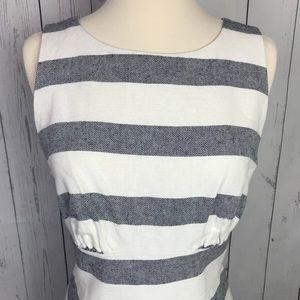 NEW J Crew striped dress NWT